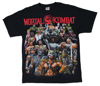 Group Shot - Mortal Kombat T-shirt