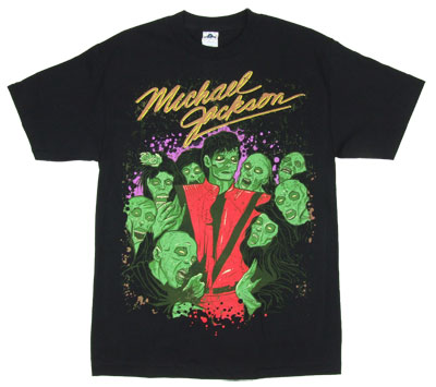 Zombie Crew - Michael Jackson T-shirt