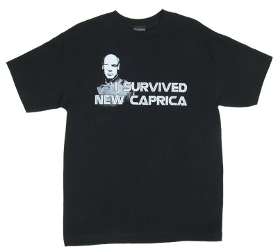 I Survived New Caprica - Battlestar Galactica T-shirt