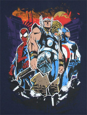 Bring On The Best - Marvel Comics T-shirt