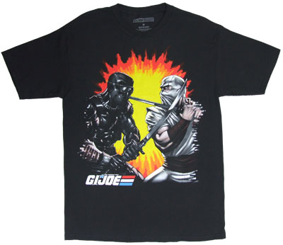 Samurai Fight - G.I. Joe Sheer T-shirt