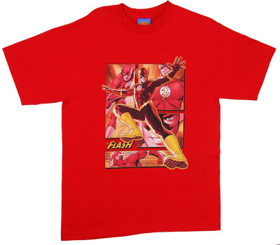 Flash Panels - DC Comics T-shirt