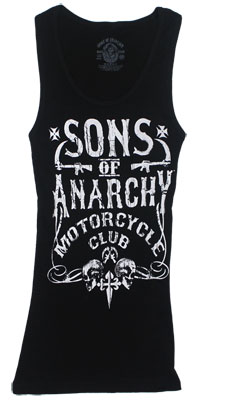 Motor Club - Sons Of Anarchy Sheer Women&#039;s Tank Top