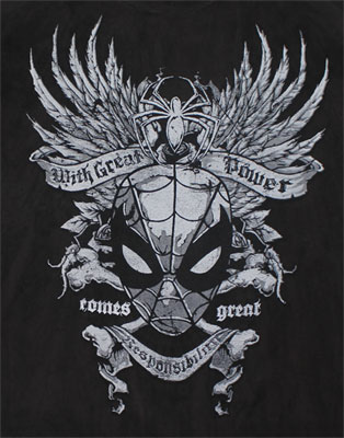 Great Responsibility - Spider-Man - Marvel Comics T-shirt