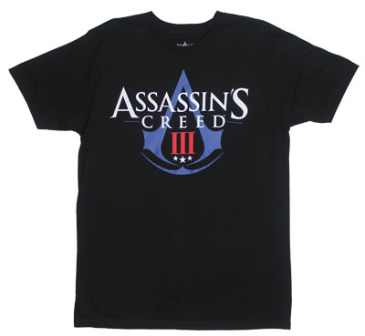 Logo - Assassin&#039;s Creed III T-shirt