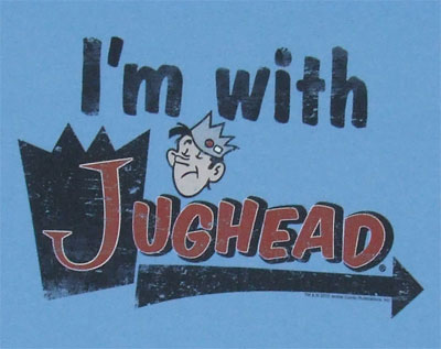 I'm With Jughead - Archie Comics T-shirt