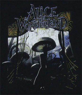 Entering Wonderland - Alice In Wonderland Sheer T-shirt