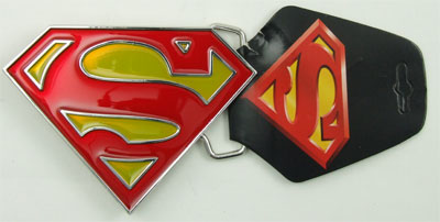 Superman Logo - DC Comics Belt Buckle