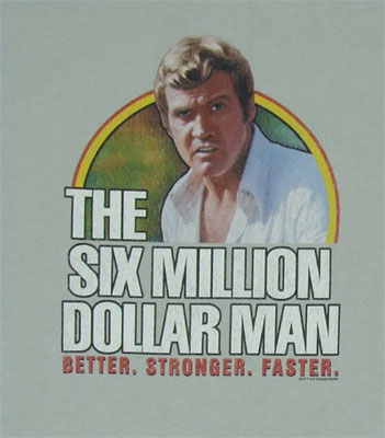 The Six Million Dollar Man T-shirt