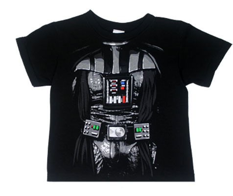 Darth Vader Costume - Star Wars Juvenile T-shirt