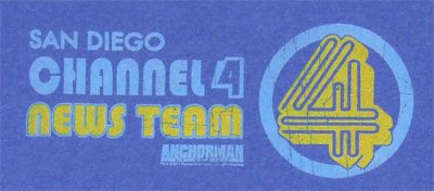 Channel 4 News Team - Anchorman T-shirt