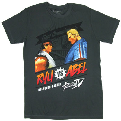 Ryu Vs. Abel - Street Fighter IV Sheer T-shirt