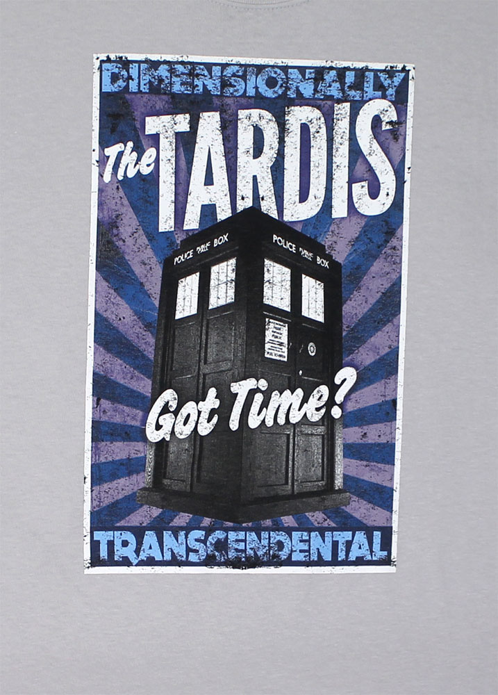 Got Time? - Dr. Who T-shirt
