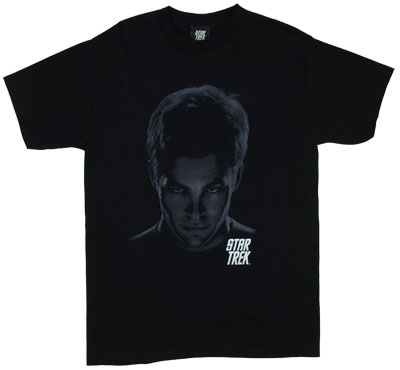 Kirk Shadows - Star Trek Movie T-shirt