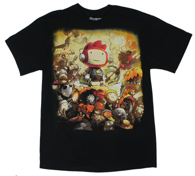 Scribblenauts T-shirt 