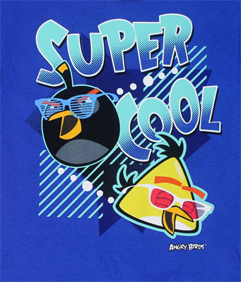 Super Cool - Angry Birds Juvenile T-shirt