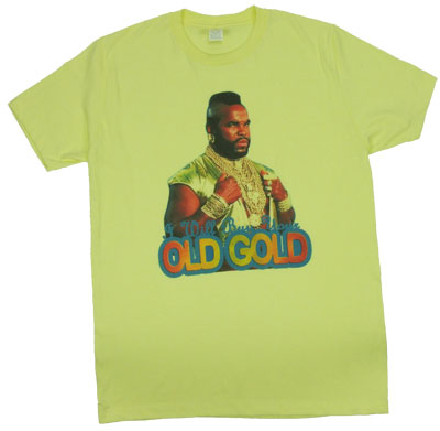 I Will Buy Your Old Gold - Mr. T Sheer T-shirt