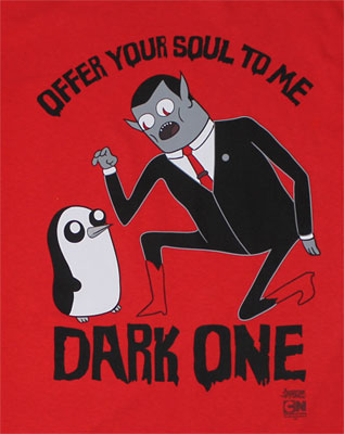Offer Your Soul To Me - Adventure Time T-shirt