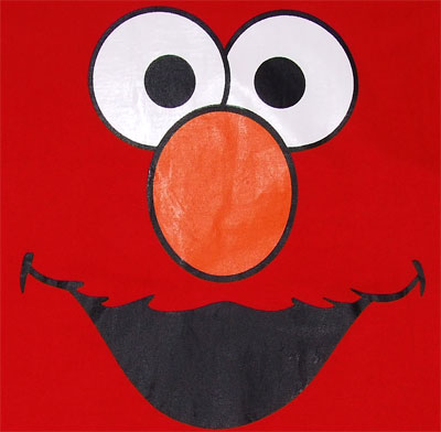 Elmo Face - Sesame Street Sheer T-shirt