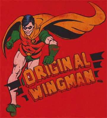 Original Wingman - Robin - DC Comics T-shirt