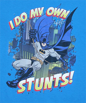 I Do My Own Stunts! - DC Comics Youth T-shirt