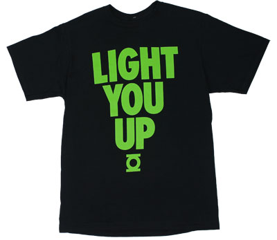 Light You Up - DC Comics T-shirt