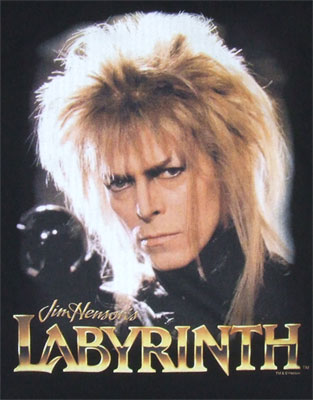 Jareth - David Bowie - Labyrinth T-shirt