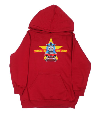 Thomas Steaming Forward - Thomas The Tank Engine Juvenile And Toddler Hooded Sweatshirt