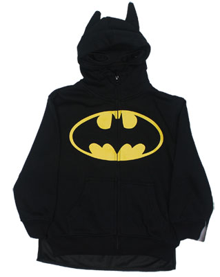 Batman Costume - DC Comics Hooded Sweatshirt