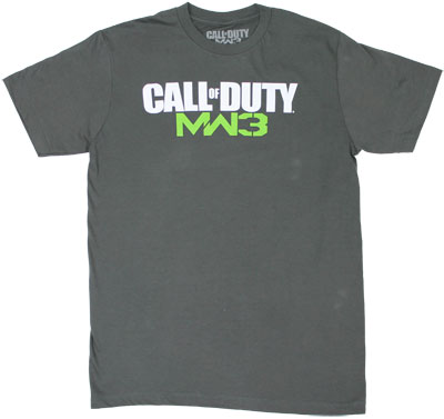 MW3 Logo - Call Of Duty Modern Warfare 3 T-shirt