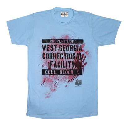 Cell Block C - Walking Dead Sheer T-shirt
