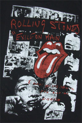 Exile On Main - Rolling Stones T-shirt