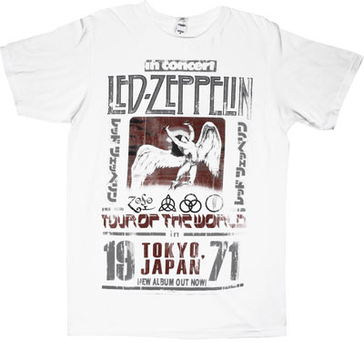 Tokyo 1971 - Led Zeppelin T-shirt