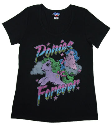 Ponies Forever - Junk Food Women&#039;s Scoop Neck T-shirt