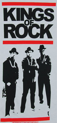 Kings Of Rock - Run DMC T-shirt
