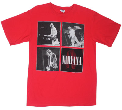 Square Logos - Nirvana T-shirt