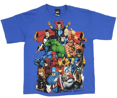 Brazen Heroes - Marvel Comics Boys T-shirt