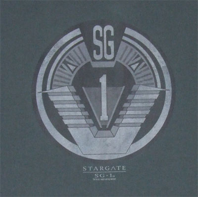 SG1 Team Badge - Stargate SG1 T-shirt
