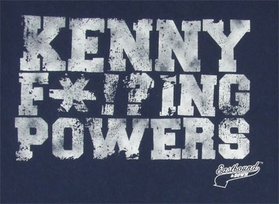 Kenny F*!?ing Powers - Eastbound And Down T-shirt