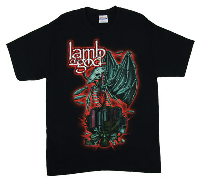 Demon Bird - Lamb Of God T-shirt