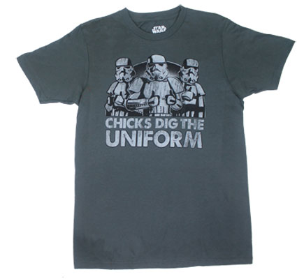 Chicks Dig The Uniform - Star Wars Sheer T-shirt