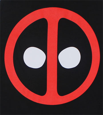 Deadpool Logo - Marvel Comics Tank Top