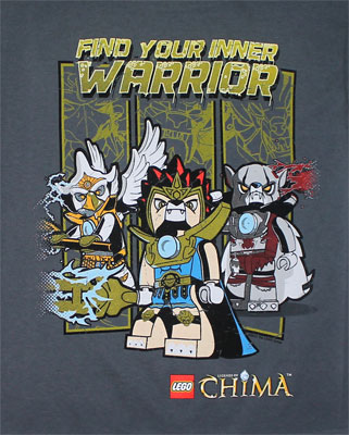Your Inner Warrior - LEGO Chima Youth T-shirt