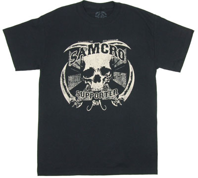 Samcro Supporter - Sons Of Anarchy T-shirt