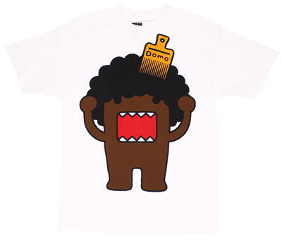 Afro Domo - Domo-Kun T-shirt