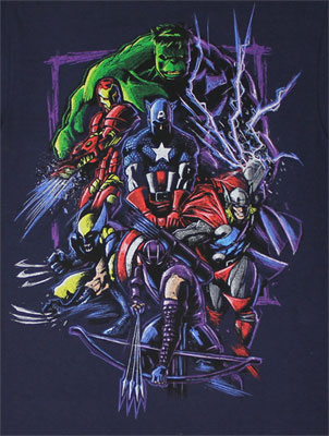 Scratch N Kill - Marvel Comics T-shirt