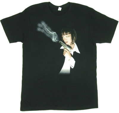 Girls Like Me - Pulp Fiction Sheer Women's T-shirt