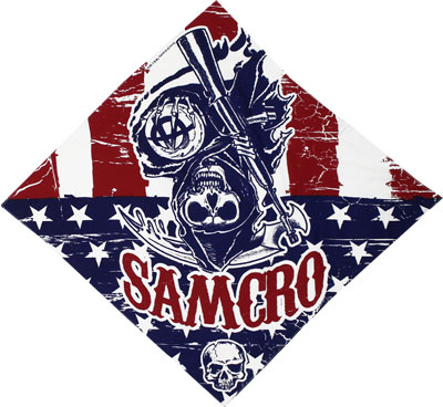 American Anarchy - Sons Of Anarchy Bandana