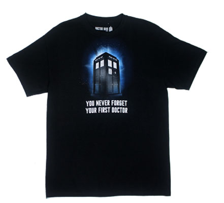 You Never Forget Your First Doctor - Dr. Who T-shirt