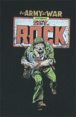 Sgt Rock - DC Comics T-shirt